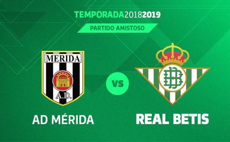 El Real Betis se enfrentará a la AD Mérida en el Estadio Romano.