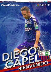El exsevillista Diego Capel ficha por el Extremadura.