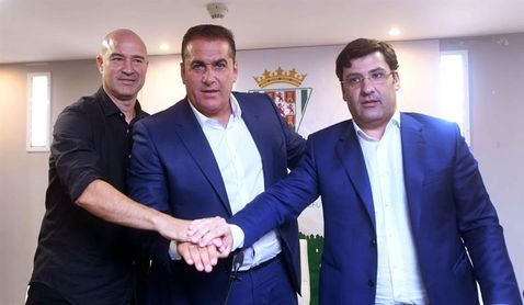 "Sandoval: ""El objetivo es poner al Córdoba donde se merece"""