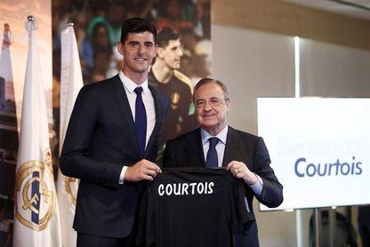 "Courtois: ""Vengo con el máximo respeto por Keylor Navas"""