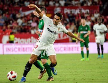 1-0. El Sevilla firma una inquietante mínima victoria para la vuelta