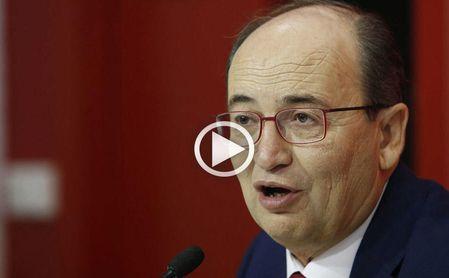 Pepe Castro, presidente del Sevilla FC.