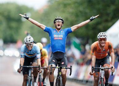 El italiano Matteo Trentin logra el oro en Glasgow; cuarto puesto de Herrada