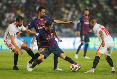 Sevilla FC 1-2 Barcelona: Pierde un título, gana crédito