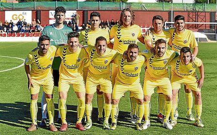El cancerbero Marco Montaño, titular con el Cabecense, en su visita la pasada Liga a Gerena.
