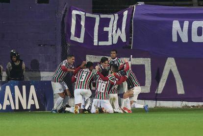 0-1. Pedro termina con el sueño violeta y sella el pase de Fluminense a octavos