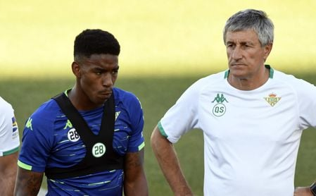 Junior Firpo renueva hasta 2023.