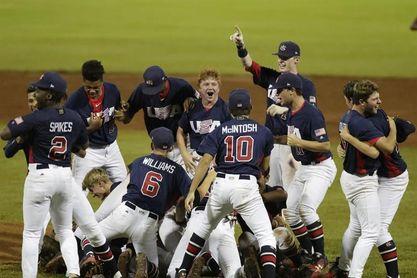 7-1. Estados Unidos vence a Panamá y es el nuevo campeón mundial del béisbol sub 15