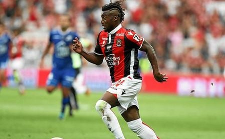 El AS Monaco ya pagó 4,5 kilos por Saint-Maximin cuando éste contaba sólo 17 años.