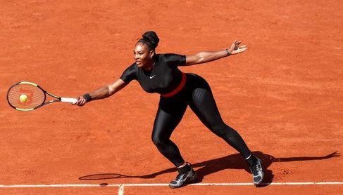 El traje postparto de Serena Williams enfada a Roland Garros