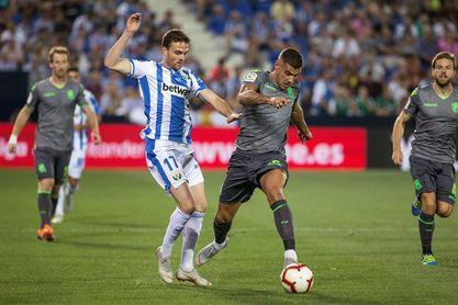 2-2. La fe del Leganés evita un regreso triunfal de Garitano