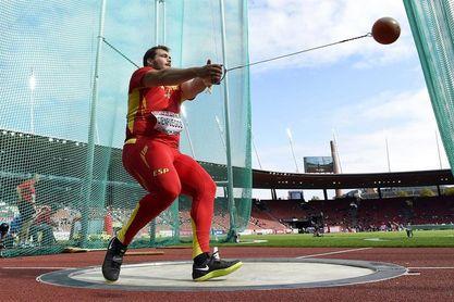 El español Javier Cienfuegos, campeón iberoamericano en lanzamiento de martillo