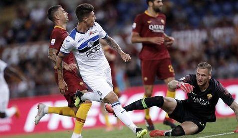Roma y Atalanta empatan 3-3 con taconazo de Pastore y doblete de Rayo Rigoni