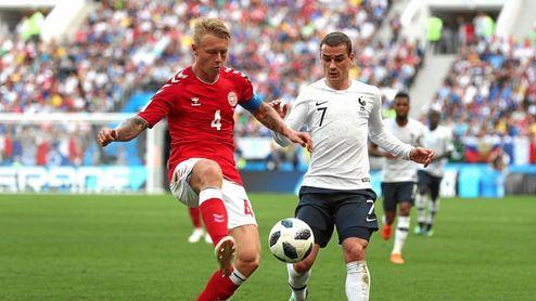 Dinamarca pasó un papelón contra Eslovaquia