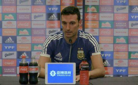 """Scaloni: """"Lo Celso es un jugador extraordinario"""""""