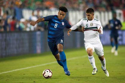 1-0. Un gol de Adams decide la victoria de EE.UU. en un duelo de jóvenes valores