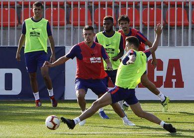 Rodrigo y Gelson vuelven a los entrenamientos del Atlético