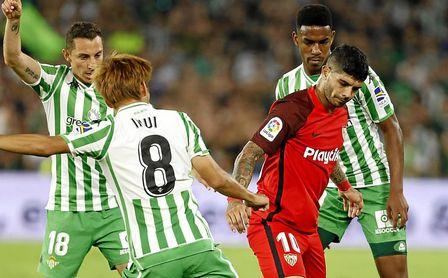 Betis y Sevilla ya conocen sus horarios para la jornada 10 de LaLiga