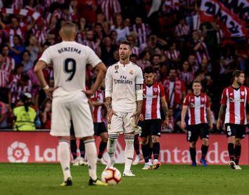 El inicio del maratón del Real Madrid se salda con el primer traspié