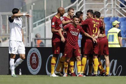 El Roma desperdicia una doble ventaja y empata con el Chievo (2-2)