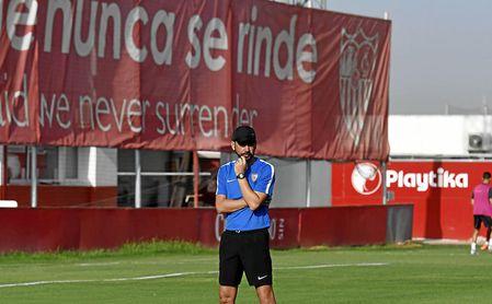 """Machín: """"Se ha visto ya al Sevilla que quiero"""""""