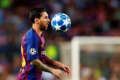 Messi muestra sus credenciales