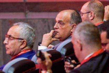 """Tebas: No urge """"ninguna decisión"""" de FIFA sobre partidos de LaLiga en EEUU"""