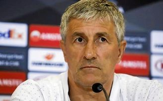 """Quique Setién: """"No me veo inferior ni a Olympiacos ni a Milan"""""""