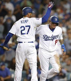 5-2. Kemp y Puig conectan jonrones contra los Rockies