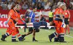 Cuatro lesiones óseas en un mes merman al Sevilla en un exigente calendario