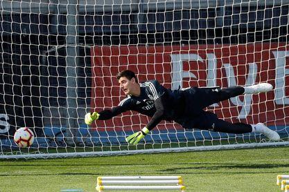 Courtois vuelve al once; descanso de inicio a Marcelo y Bale
