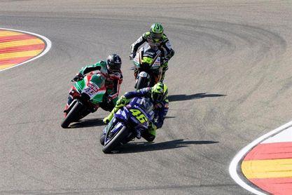 Rossi sólo desea que acabe cuanto antes la carrera de Aragón
