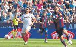 El cuarto triplete de Ben Yedder con el Sevilla
