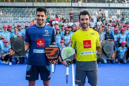 Maxi Sánchez y Sanyo Gutiérrez ganan en Oeiras