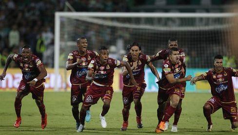 Deportes Tolima asume liderato de la liga y queda a un paso de clasificación