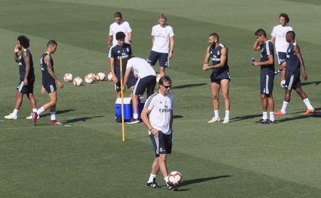 El Real Madrid comienza a preparar la visita a Nervión sin Carvajal