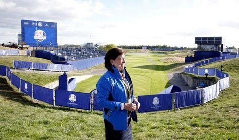 María Acacia López Bachiller, veterana española del golf y de la Ryder
