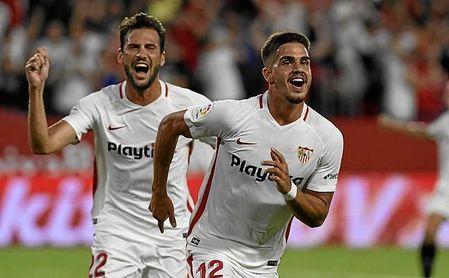 El excelente rendimiento de André Silva en el Sevilla está siendo muy sonado en Italia.