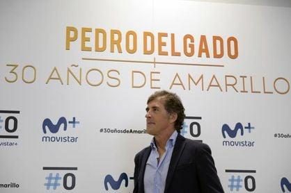 """Perico Delgado se siente """"más seguro en la carretera ahora que hace 20 años"""""""
