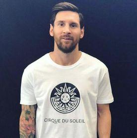 Messi se pasa al circo.