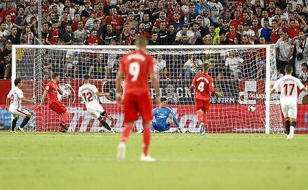 Desde la goleada que recibió en el Sánchez-Pizjuán, el Real Madrid no ha levantado cabeza.