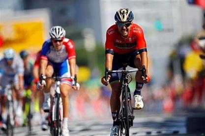 El italiano Sonny Colbrelli gana al esprint el Gran Piemonte