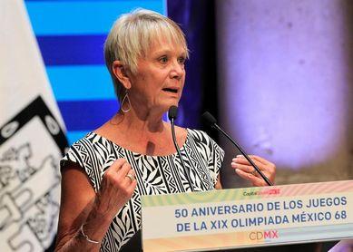 """Debbie Meyer: """"Los Juegos Olímpicos de México se quedaron en mi corazón"""""""