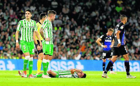 El Betis, segundo equipo que más faltas recibe de Europa