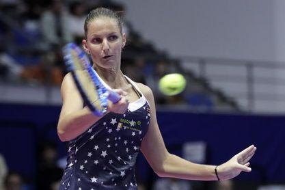 Karolina Pliskova y Caroline García y se enfrentarán en la final en Tianjin