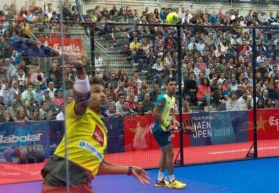 Maxi Sánchez y Sanyo Gutiérrez no fallan y completan las semifinales