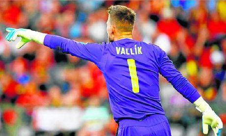 Vaclik, fundamental en la victoria checa ante Eslovaquia