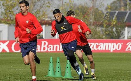 Desde su llegada a Sevilla, Arana hizo una gran amistado con Ganso, ahora cedido en el Amiens.