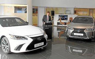 lexus sevilla presenta en exclusiva los nuevos modelos lexus ux 250h