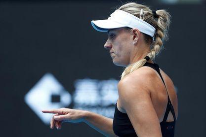 Angelique Kerber rompe con su entrenador Wim Fissette